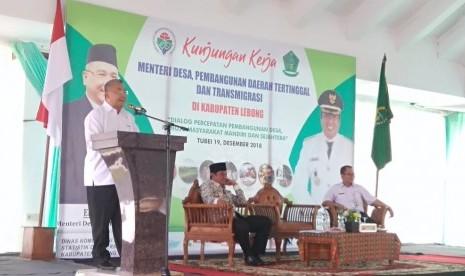 Mendes Minta Pemanfaatan Dana Desa tak Hanya Infrastruktur