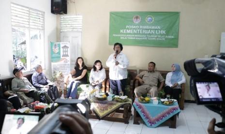 Ini Solusi Ekonomi untuk Korban Tsunami Banten dari KLHK