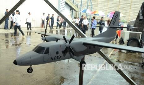 Uji N219 Versi Amfibi Dilakukan di BPPT Surabaya