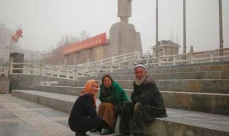 Jerman Desak Cina Akhiri Penahanan Muslim Uighur