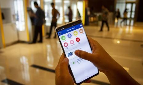 Mandiri Online Tambah Fasilitas Nfc Pada Perangkat Iphone Republika Online