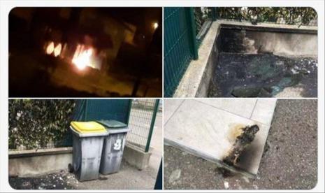 Masjid di Prancis Dibakar Orang Tak Dikenal