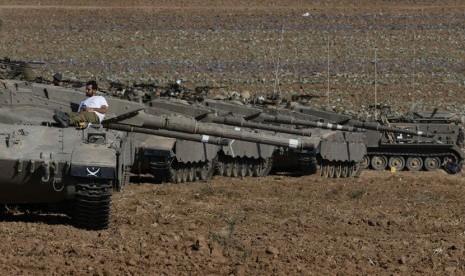 Pasukan Israel Merangsek ke Kota Kecil di Gaza