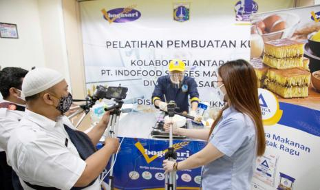 Dukung Ukm Bogasari Gelar Pelatihan 3 395 Warga Dki Jakarta Republika Online