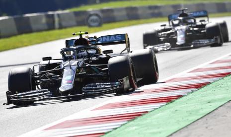 Bottas Lega Hindari Banyak Hambatan untuk Juara GP Austria