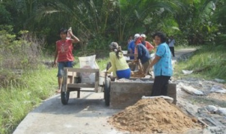 Kemendes Resmikan Jalan Sirip di Perbatasan Timor Leste