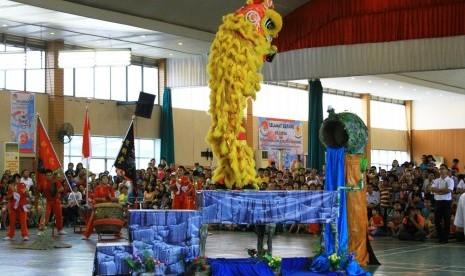 13 Provinsi Ikuti Kejurnas Barongsai di Padang