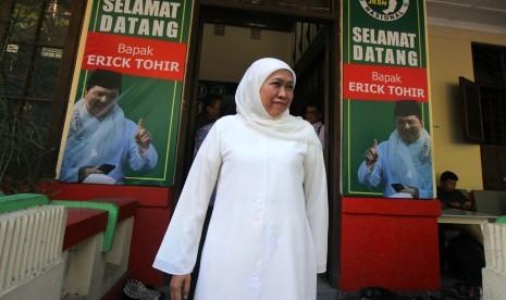 Khofifah Yakin Jokowi-Ma'ruf Menang Signifikan di Jatim