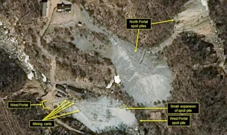 AS Pertimbangkan Cabut Sanksi Korea Utara