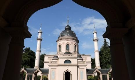 Masjid Schwetzingen, Pertama di Jerman