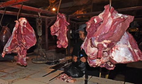 Sepekan Jelang Lebaran Harga Daging di Jambi Meroket thumbnail