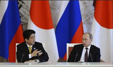 Jepang: Tak Mudah Berdamai dengan Rusia