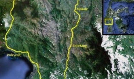 Dalam 24 Jam, Mamasa Diguncang 15 Kali Gempa