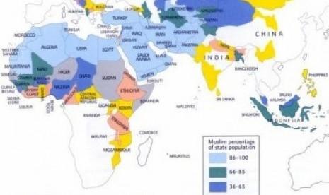 Hasil carian imej untuk Inilah 5 Negara Dengan Pertumbuhan Umat Islam Tercepat Sedunia