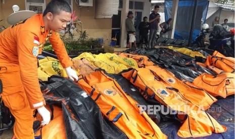 Menko PMK Sampaikan Duka kepada Korban Tsunami Selat Sunda