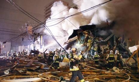 Ledakan Besar Hancurkan Restoran di Sapporo