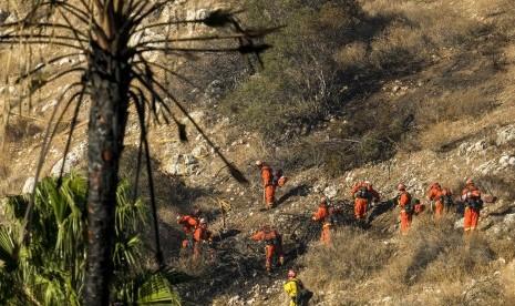 Korban Tewas Kebakaran Hutan Kalifornia Menjadi 56 Orang.