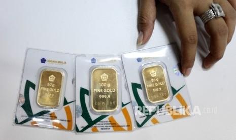 Harga Emas Batangan Turun Rp 6000 Hari Ini Republika Online Mobile