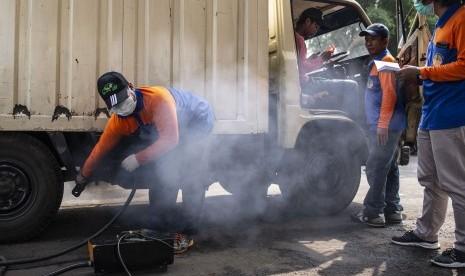 Asap Kendaraan Penyumbang Polusi Udara Terbesar di Sukabumi