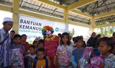 PKPU HI Sudah Salurkan 3.669 Paket Bantuan Korban Tsunami
