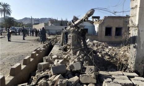 Lagi, Taliban Tembak Mati 14 Militer Afghanistan