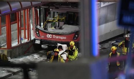 Kecelakaan Bus di Ottawa, Tiga Orang Meninggal