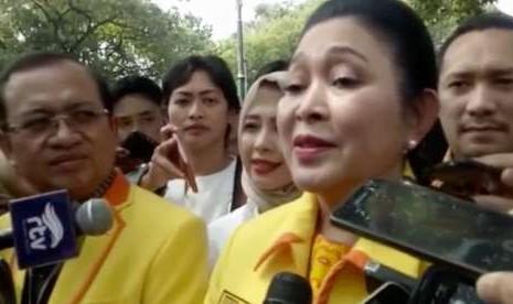 Titiek Soeharto Optimistis Prabowo-Sandi Menang di Banten