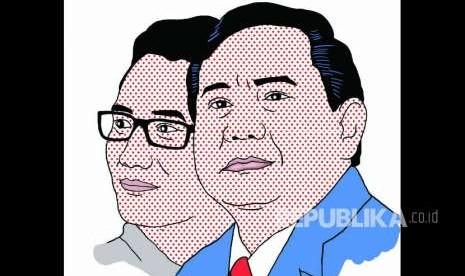 Kubu Prabowo Gelar Pertemuan dengan Media Asing