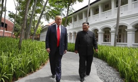 Tangan Kanan Kim Jong-un Kunjungi AS