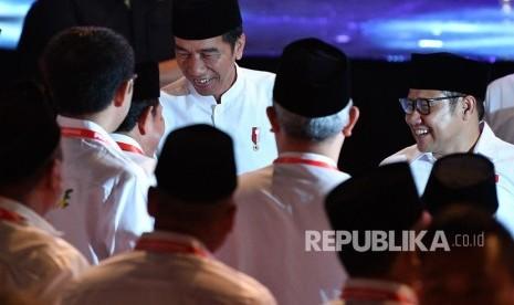 Hadiri Haul Gus Dur, Jokowi Ingatkan Tata Krama Berpolitik