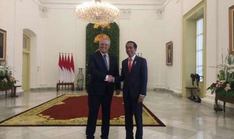 Jokowi Telpon PM Australia Soal Kedutaannya di Israel