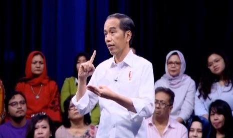 Jokowi Janji Jawab Aksi Kamisan di Debat Pilpres