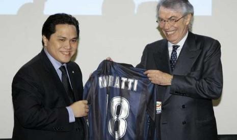Presiden klub Inter Milan Erick Thohir  Terkini Suporter Ingin Ikut Danai Inter
