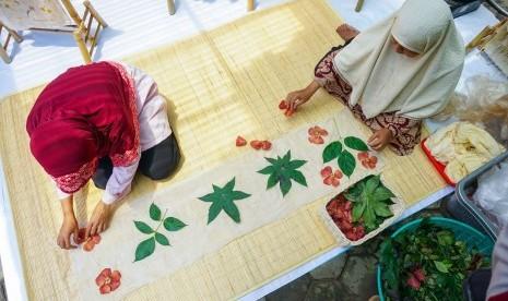 Rumah Zakat Bentuk Kampung Edukasi Ecoprint