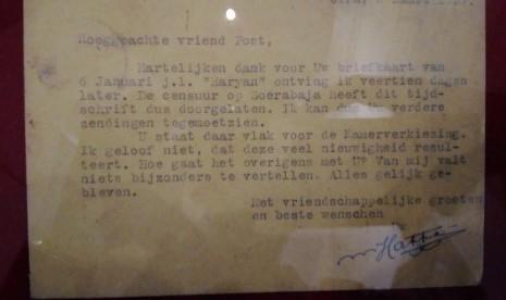 Hari Pahlawan, 25 Surat Pendiri Bangsa Dipamerkan