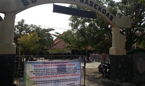 Aksi Mogok Guru Honorer Indramayu Masih Berlangsung