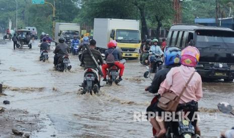 Puluhan Titik Banjir Terdeteksi di Kabupaten Bandung