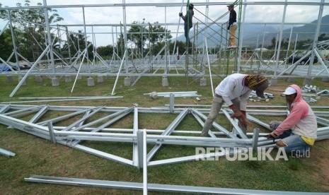 Pembangunan Huntara Korban Bencana Masih Kekurangan Lahan