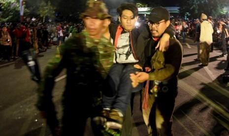 Tujuh Korban 'Surabaya Membara' Dirawat di RSUD Shoewandie