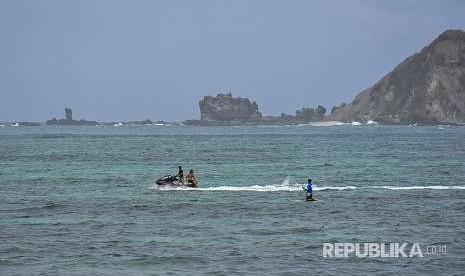 Ribuan Turis Kembali Ramaikan Tiga Gili Lombok Utara