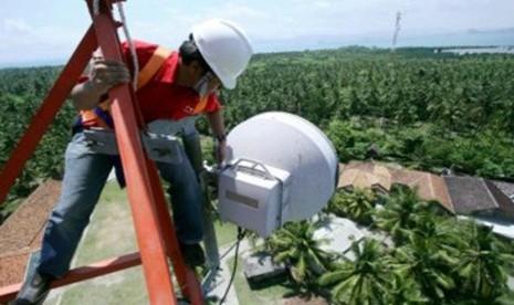 BTS Bantuan Kominfo Beroperasi di Solok Selatan