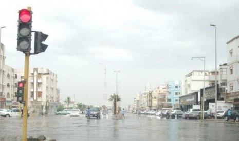 Jeddah Anggarkan Rp 11 Triliun untuk Drainase Air Hujan