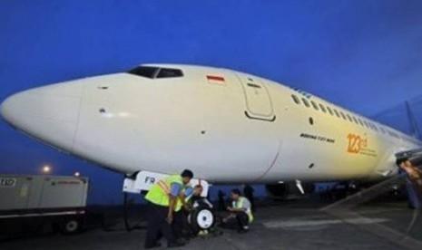 Garuda Indonesia Tingkatkan Perawatan Berkala Pesawat