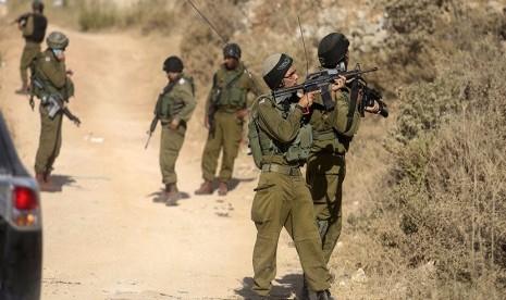 Pasukan Israel Tembak Mati Warga Palestina di Tepi Barat