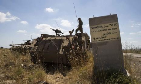 Netanyahu Minta AS Akui Dataran Tinggi Golan Wilayah Israel