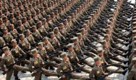 Tentara Korut dan Korsel Seberangi Zona Demiliterisasi