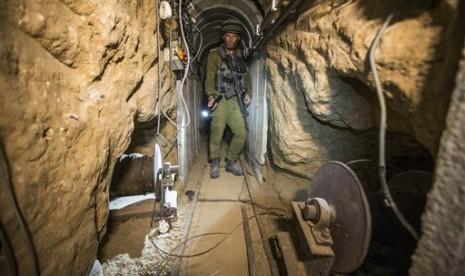 Israel Minta Lebanon dan PBB Hancurkan Terowongan Hizbullah