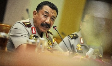 The Chief of Indonesian National Police, Timur Pradopo.