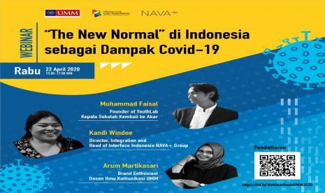 Komunikasi Umm Seminarkan The New Normal Dampak Covid 19