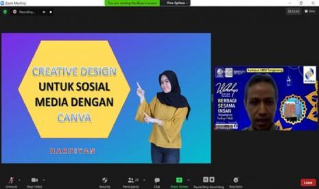 BSI Bagikan Kreasi Membuat Desain Kreatif untuk Sosmed